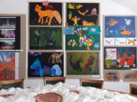 """Zhodnocení výtvarné přehlídky """"MÚZY V MUZEU"""" konané v rámce festivalu MUZIÁDA 2017."""