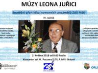 Múzy Leona Juřici 2. května 2018