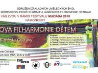 Janáčkova filharmonie dětem 27.6. 2018 18:00 hod. sál DK měta Ostravy
